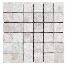 2x2 silver shadow marble mosaic tile honed 2 marble tile d94 tile