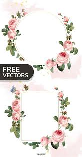 Floral Logo Design Free Download Download This Cool Free Set Of Floral Frame Vectors And