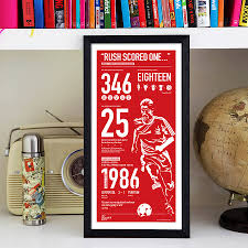 Liverpool Bedroom Accessories Liverpool Legend Ian Rush By The Beautiful Game