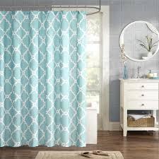 aqua blue bathroom designs. Amazon.com: Merritt Design Pattern Modern Fabric Shower Curtain, Simple Geometric Casual Curtains For Bathroom, 72 X 72, Aqua: Home \u0026 Kitchen Aqua Blue Bathroom Designs A