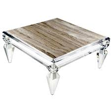 Avenire Lucite Coffee Table by Craig Van Den Brulle 1