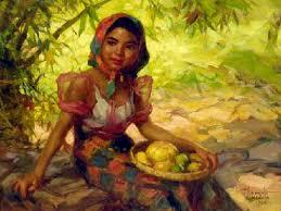 the fruit gatherer 1950