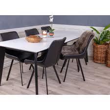 Esstisch Voel 210x90cm Küchentisch Esszimmer Wohnzimmer Holz Tisch