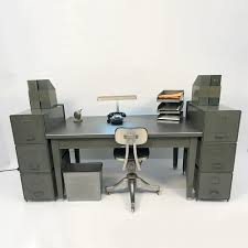 office desk with filing cabinet. Industrial Office Desk / File Cabinets Accessories With Filing Cabinet F