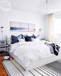 full size bedroom masculine. \u201cThe Couple Wanted Lots Of Storage And A King-size Bed,\u201d Says Style At Home  Contributing Design Editor Christine Hanlon. \u201cSo This Big Bed Frame, Full Size Bedroom Masculine