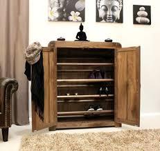 Shiro Walnut Shoe Cupboard #wood #furniture #livingroom #lounge #bedroom  #office
