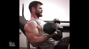 Chris Hemsworth Has Muscles No One Has Ever Seen Before - YouTube
