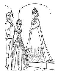 Small Picture Frozen Elsa And Anna Coloring Pages Coloring Pages Elsa