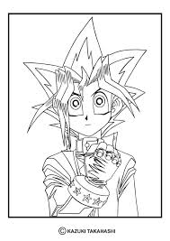 Yu Gi Oh Coloring Pages To Print Oh 4 Coloring Page Coloring Page