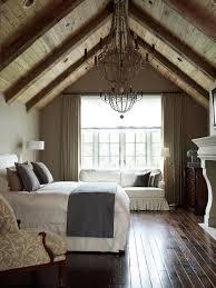 ceiling beams in bedroom