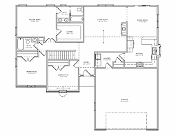 one level home plans awesome floor plan front plan law inlaw floorthd e basement porches
