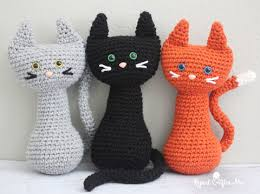 Free Crochet Cat Patterns Classy 48 Awesome Crochet Cat Patterns Crochet Cats Crochet Cat Pattern
