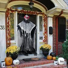 Details Zu Diy Halloween Skeleton Hanging Ghost Terror Death Props Party Door Decor