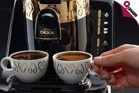 The sunny fal turkish coffee machine makes coffee suited to your taste with the touch of a button, and takes you to the peak of coffee flavor and to the deepest of conversations with your most loved guests. Okka Turkish Coffee Machine Qatar Bean To Cup Coffee Maker