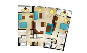 disney contemporary resort 3 bedroom villa. 2-bedroom lock-off villa disney contemporary resort 3 bedroom