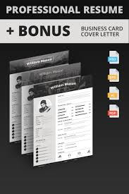 William Mason Creative Director Resume Template Professional