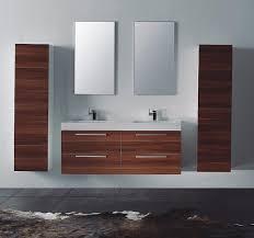 double sink vanity with makeup table. bathroom with makeup satin white ceramic brown dark double sink vanity table u