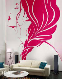 wall painting designs living room ideas