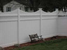 Exellent Vinyl Privacy Fence Ideas White And For Design Inspiration