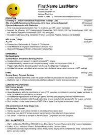 How To Write A Resume Singapore How To Write Resume Singapore Resume For Study 16