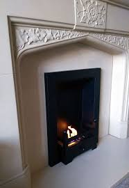 diy bio fire insert in a beautiful old gas fireplace as converted by our customer tom