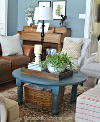 incredible decorating a round coffee table with 1000 ideas about round coffee tables on family room