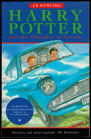 harry potter and the chamber of secrets book cover uk