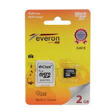 Everon 2GB MicroSD Hafıza Kartı - 21.10 TL + KDV