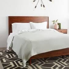 vilas queen size mid century style bed