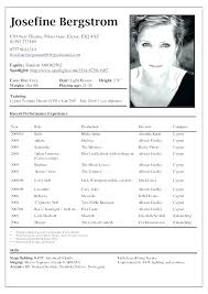 Acting Resume Mesmerizing Free Acting Resume Template Download 60 Lafayette Dog Days