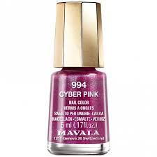 <b>Mavala Cyber Chic</b> 2018 Nail Polish Collection - <b>Cyber</b> Pink (994) 5ml