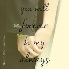 Marriage Love Quotes Impressive You Will Forever Be My Always Love Quote Wedding 48 Quotes