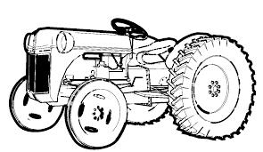 S Lection De Dessins De Coloriage Tracteur Imprimer Sur