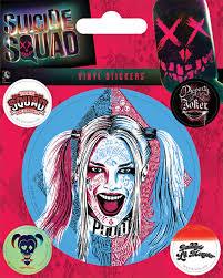 Sebevražedný Oddíl Harley Quinn Samolepka