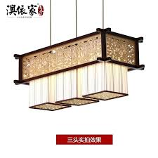 square wood chandelier modern style living room square wooden chandelier light classical sheepskin restaurant hotel restaurant square wood chandelier