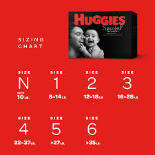Huggies Special Delivery Baby Diapers Hypoallergenic Size