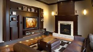 New Living Rooms Trinell Entertainment Wall Fireplace Insert