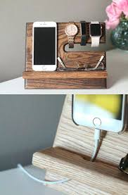 diy charging dock oak nightstand valet a wooden phone stand phone charging dock wood docking station