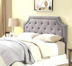 Queen Size Tufted Headboard Tufted Bed Frame Queen Queen Grey Tufted ...