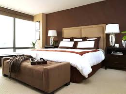 accent colours for brown bedroom design with brown accent wall color and drum shape white table accent colours for brown
