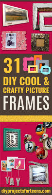 best diy picture frames and photo frame ideas how to make cool handmade proje
