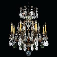 pewter crystal chandelier renaissance rock crystal 8 light chandelier finish antique pewter crystal color combination of