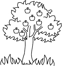 apple tree clipart black and white. black and white apple tree clipart 10 p