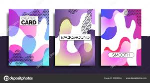 Funky Website Design Templates Funky Design Template Fot Print Products Stock Vector
