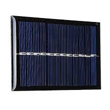 Buy RISHIL WORLD <b>0.6W 6V</b> 90 * 60 * 3mm <b>Mini</b> Photovoltaic ...