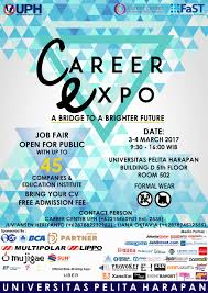 job fair career expo uph maret jadwal event info job fair career expo uph maret 2017
