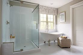 image of clawfoot tub shower riser