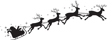 Αποτέλεσμα εικόνας για santa sleigh clip art