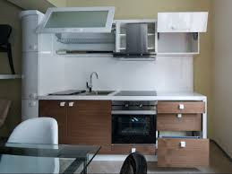 ... Delightful Images Of Kitchen Decoration Using Compact Kitchen Cabinet :  Breathtaking Image Of Small Modern Kitchen ...