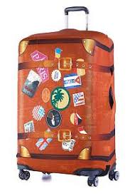 Яркий <b>чехол для чемодана</b> купить. Описание размеров.